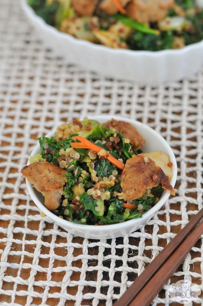 Shanghai Meatball Stir Fry