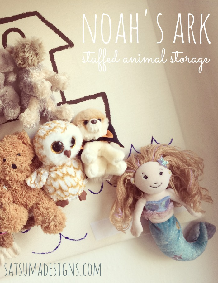 noahs ark stuffed animal storage