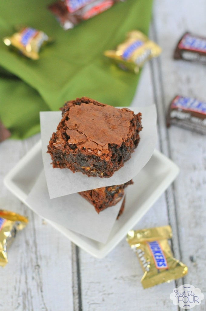 01 - snickers brownies