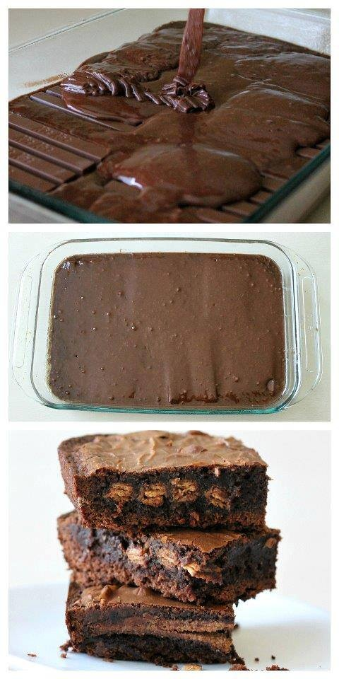 12 - Mom Dot Com - Kit Kat Brownies