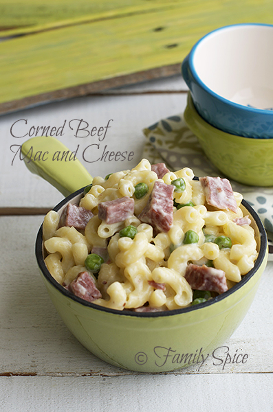 19 - Family SPice - Corned Beef Mac & Cheese