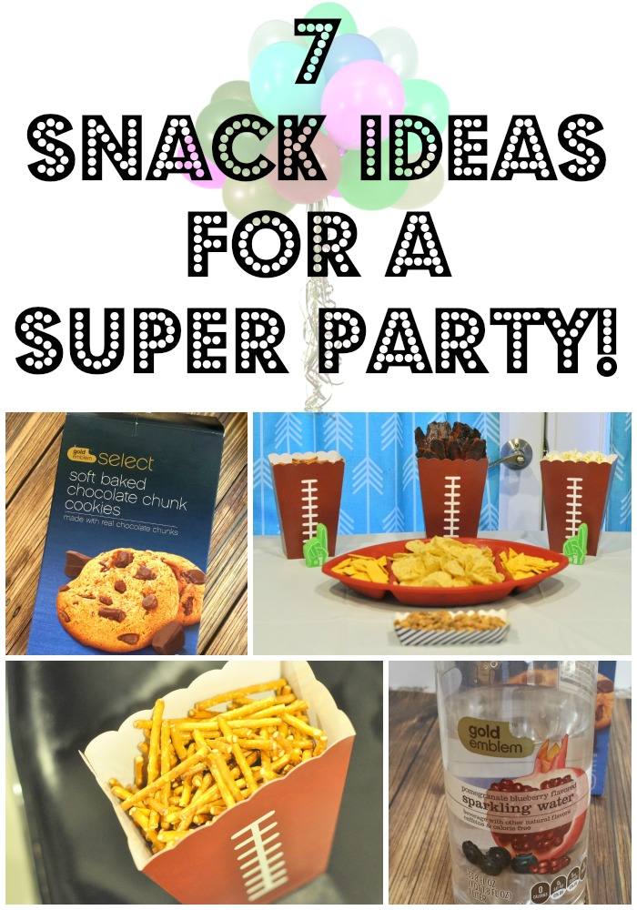 7 snack ideas for a super party!
