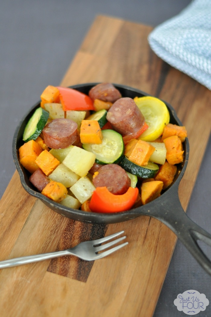 Paleo Sausage and Vegetables