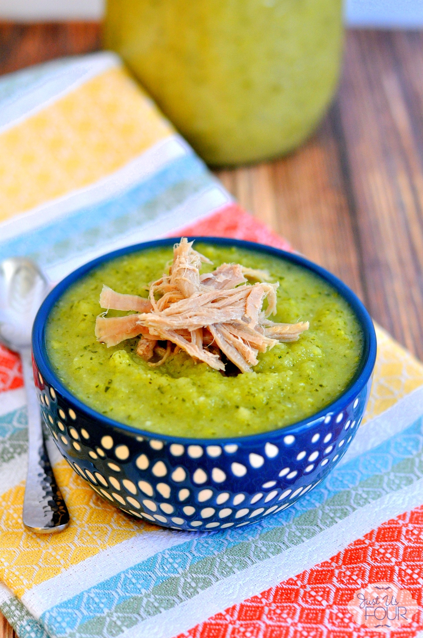 Thai Ginger Zucchini Soup with Kalua Pork