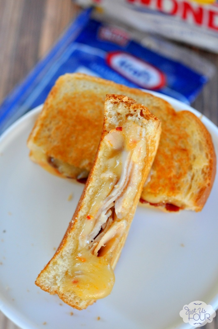 The best grilled cheese: fiery turkey bacon grilled cheese