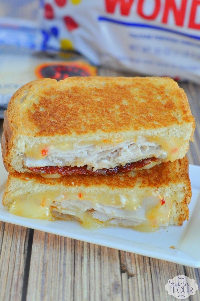 Turkey Bacon Grilled Cheese