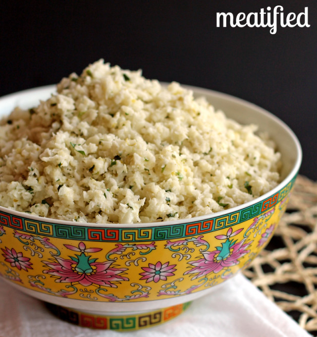 03 - Meatified - Lime Coconut Cauliflower Rice