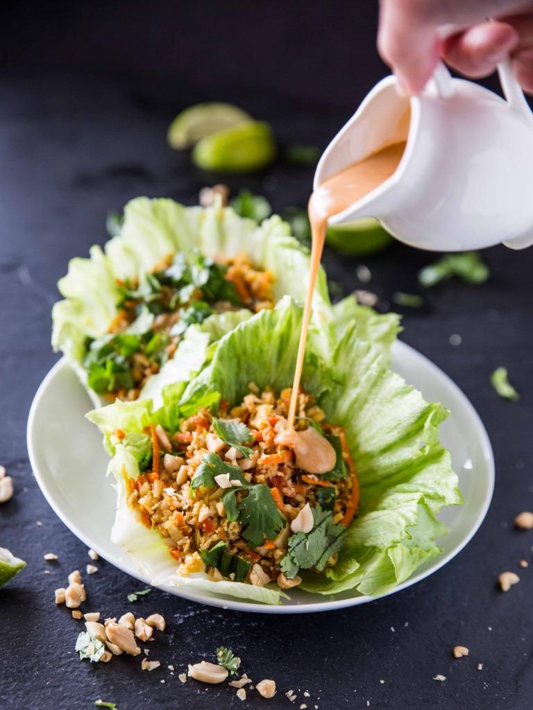 04 - Veggie and the Beast Feast - Cauliflower Rice Lettuce Cups