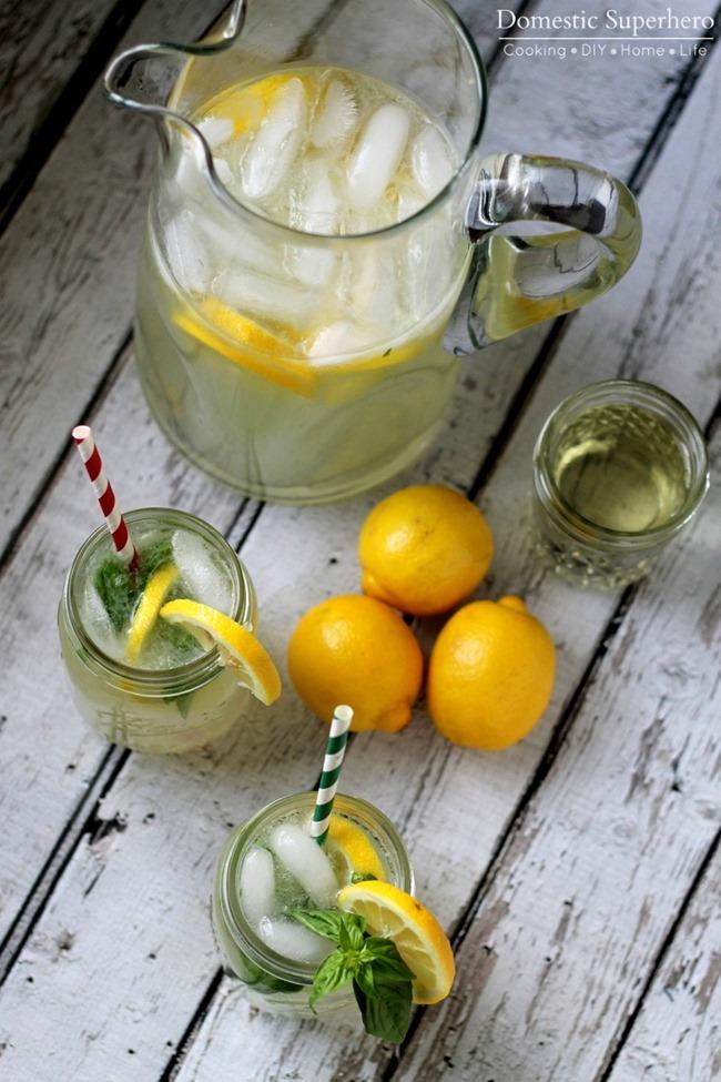 05 - Domestic Superhero - Homemade Basil Lemonade
