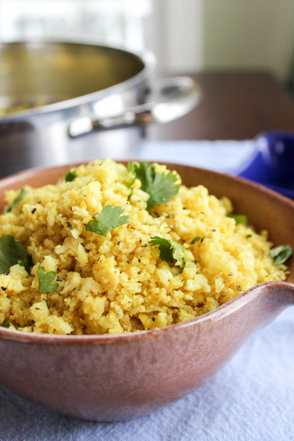 06 - The Food Charlatan - Indian Spiced Cauliflower Rice