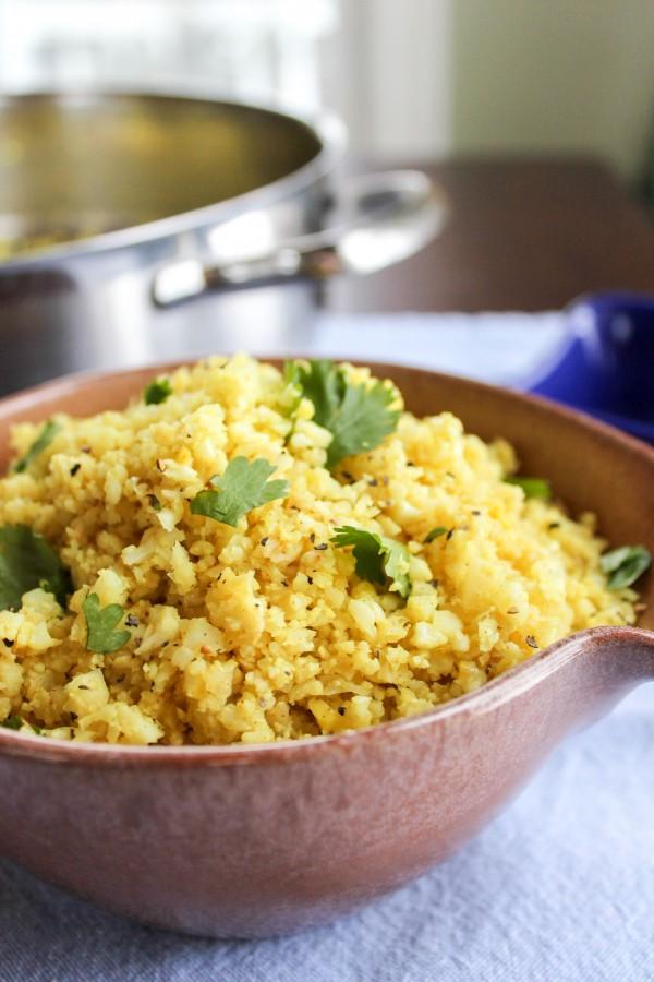 06 - The Food Charlatan - Indian Spiced Cauliflower Rice