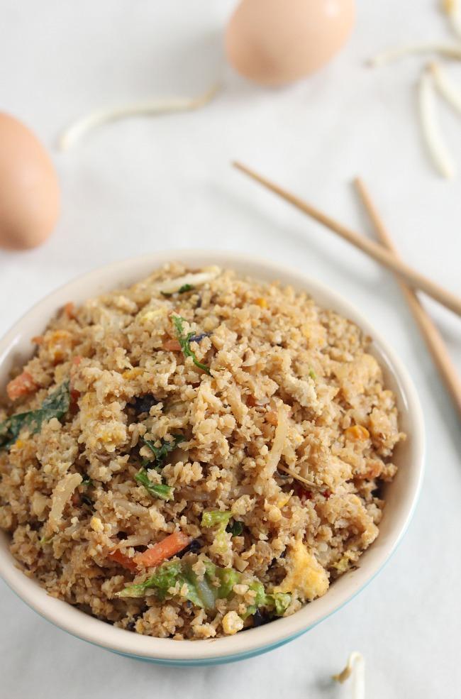 09 - Amuse Your Bouche - Cauliflower Fried Rice