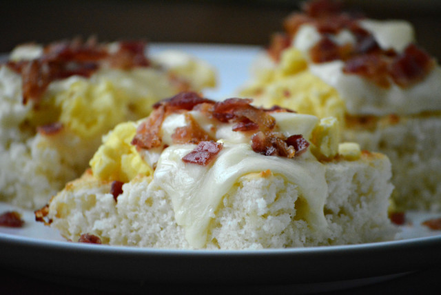 09 - The Best Blog Recipes - Cheesy Havarti Biscuit Stacks