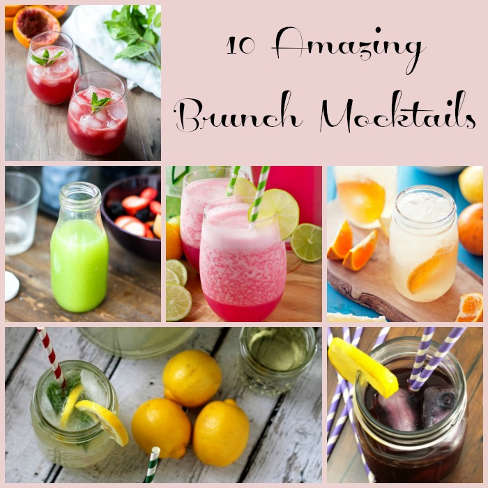 10 Amazing Non-Alcoholic Brunch Drink Recipes