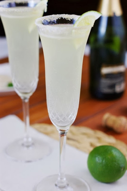 20 - The Kitchen is My Playground - Champagne Margaritas
