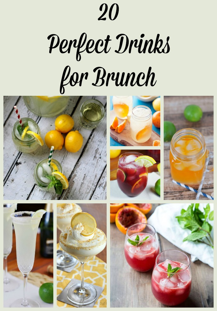 20 Perfect Brunch Drink Recipes