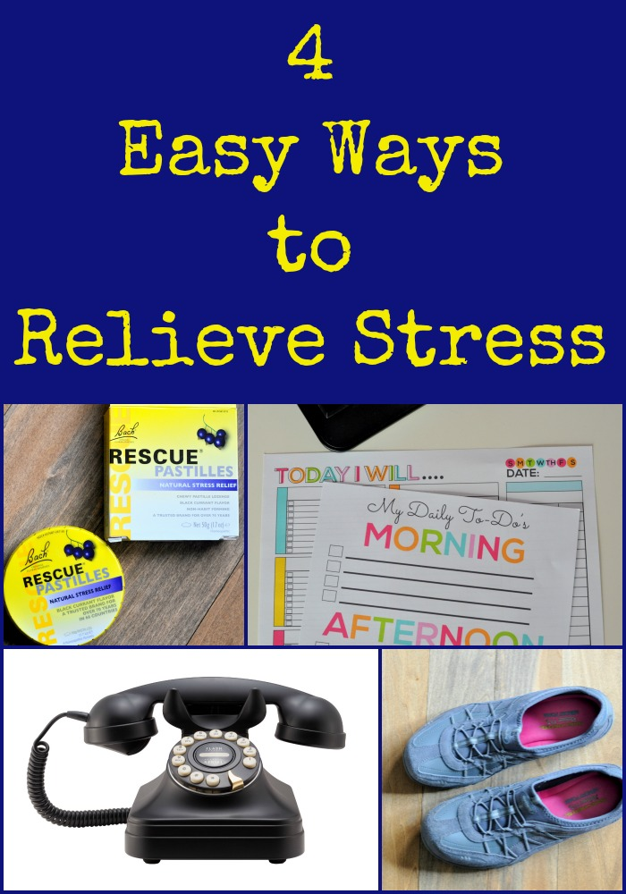 4 Easy Ways to Relieve Stress