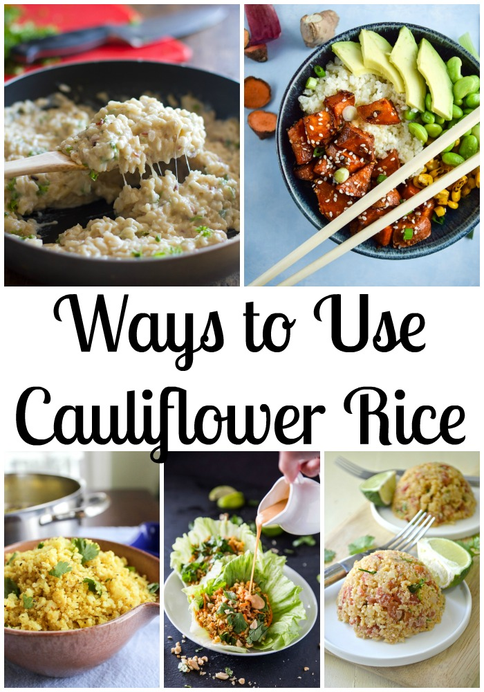9 Ways to Use Cauliflower Rice