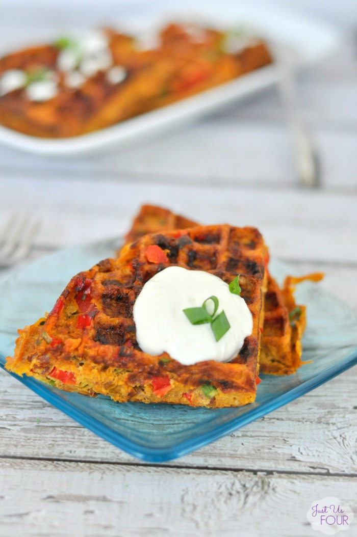 Paleo Southwestern Waffles from Just Us Four