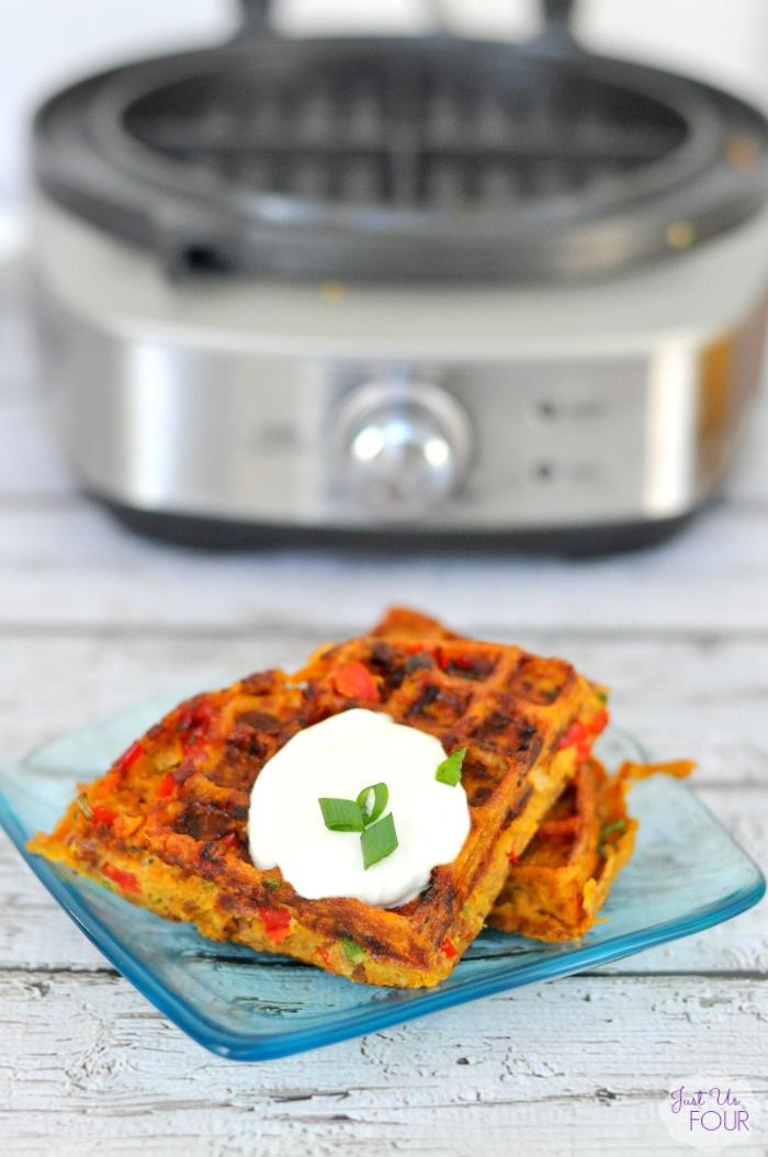 Hashbrown Waffles - Paleo Style