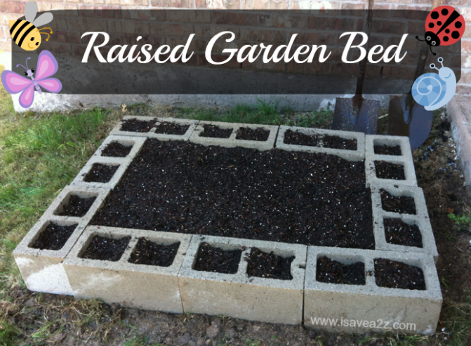 22 - I Save A to Z - DIY Raised Garden Bed