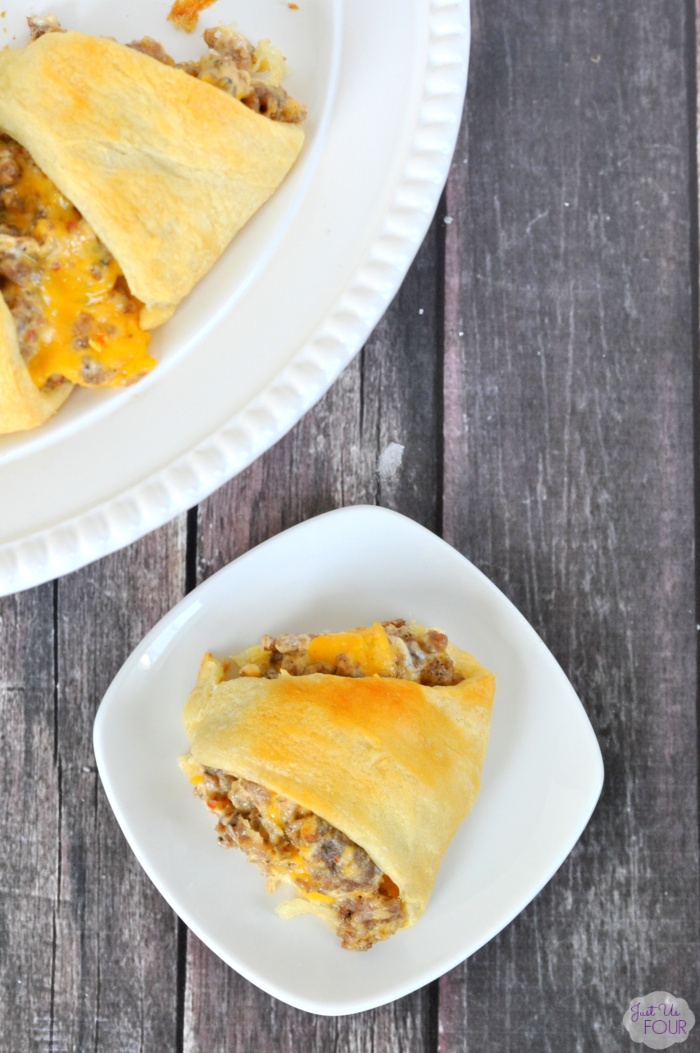 Cheesy Sausage Crescent Ring Recipe