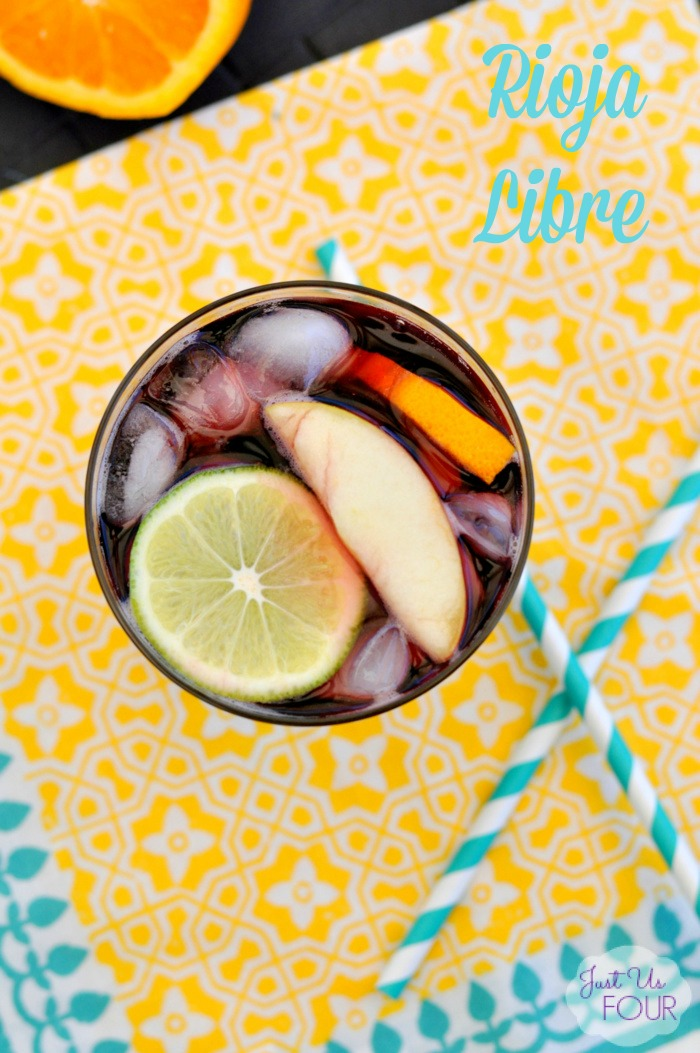 Three Ingredient Sangria: Rioja Libre