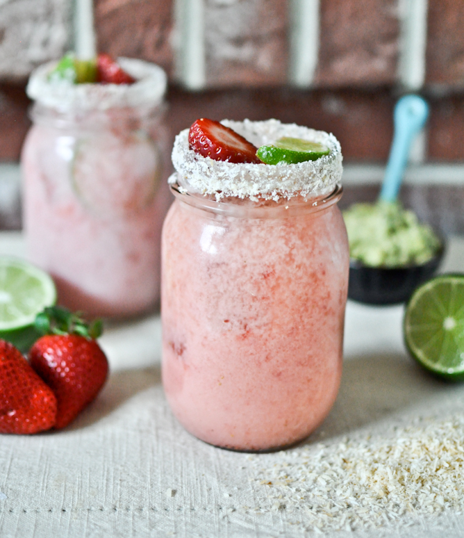 01 - How Sweet It Is - Strawberry Coconut Margaritas