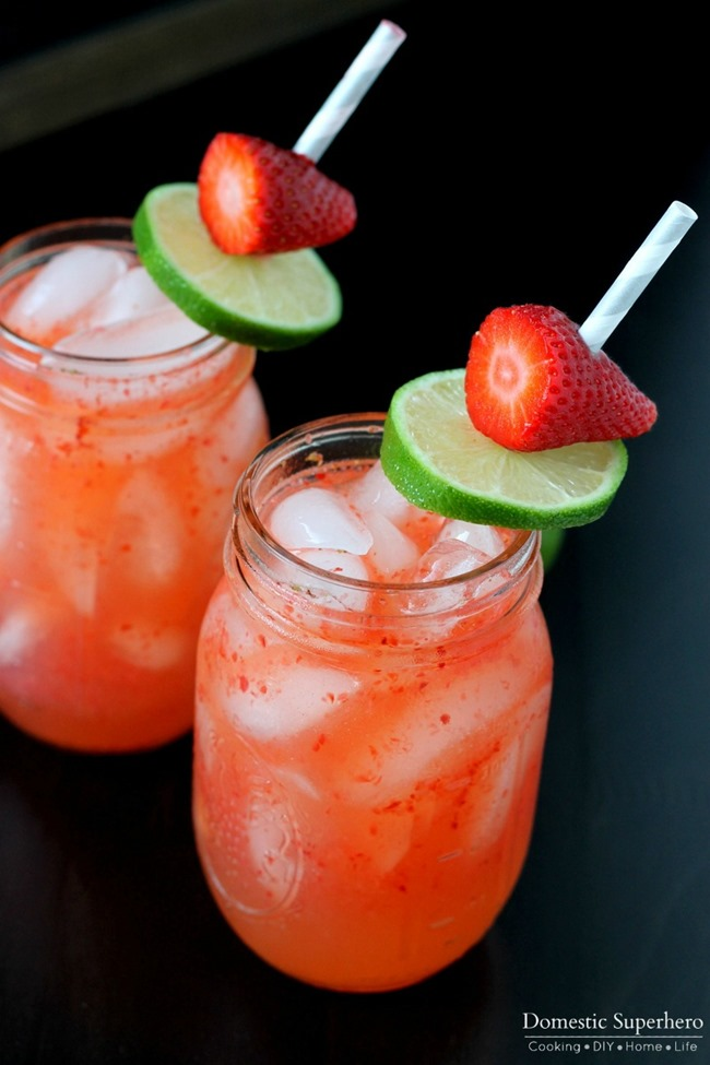 03 - Domestic Superhero - Strawberry Moscow Mule