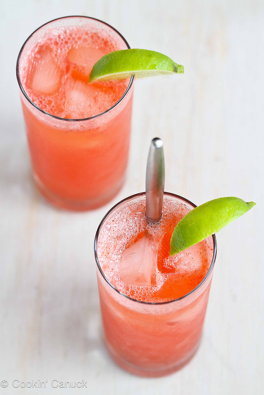 07 - Cookin Canuck - Strawberry Lime Tom Collins
