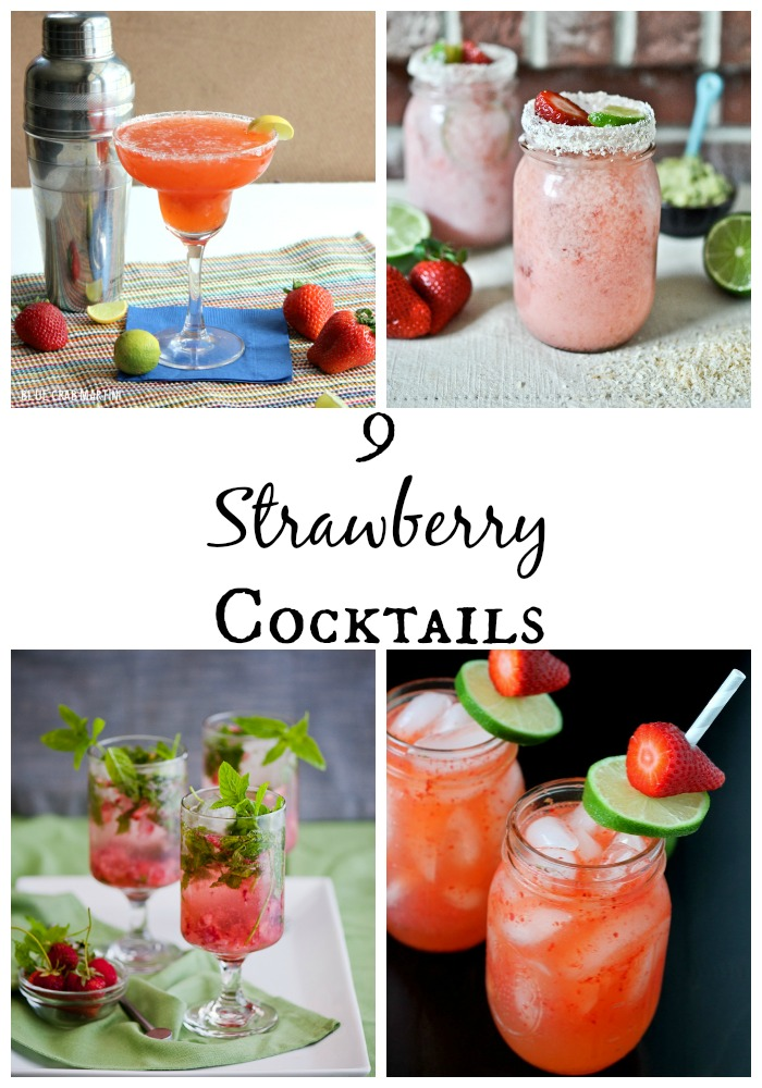 9 Refreshing Strawberry Cocktails for Summer
