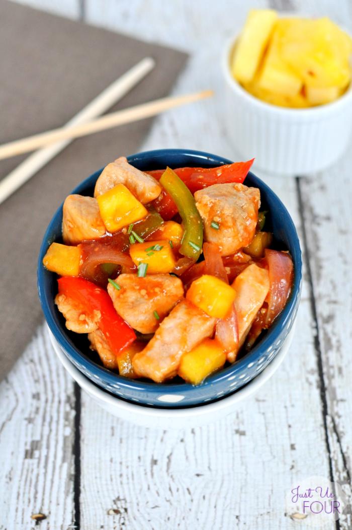 Paleo Pork Stir Fry with Pineapple