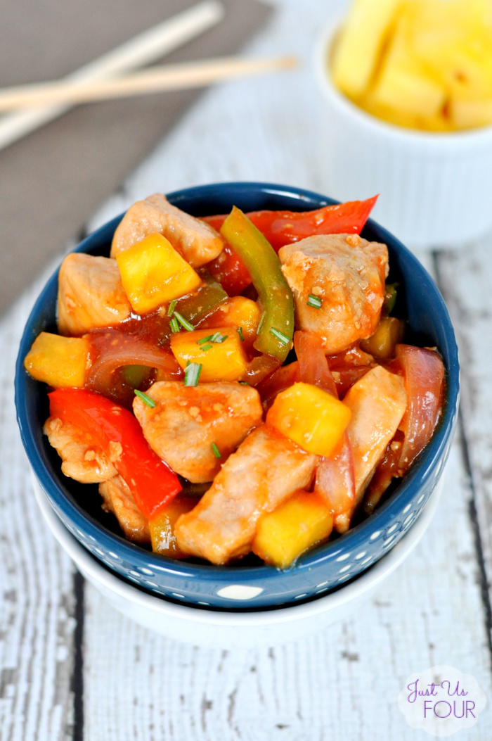 Paleo Pork Stir Fry with Pineapple