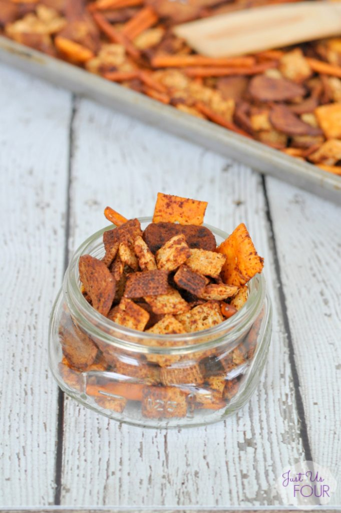 Sriracha Chex Mix Recipe - My Suburban Kitchen
