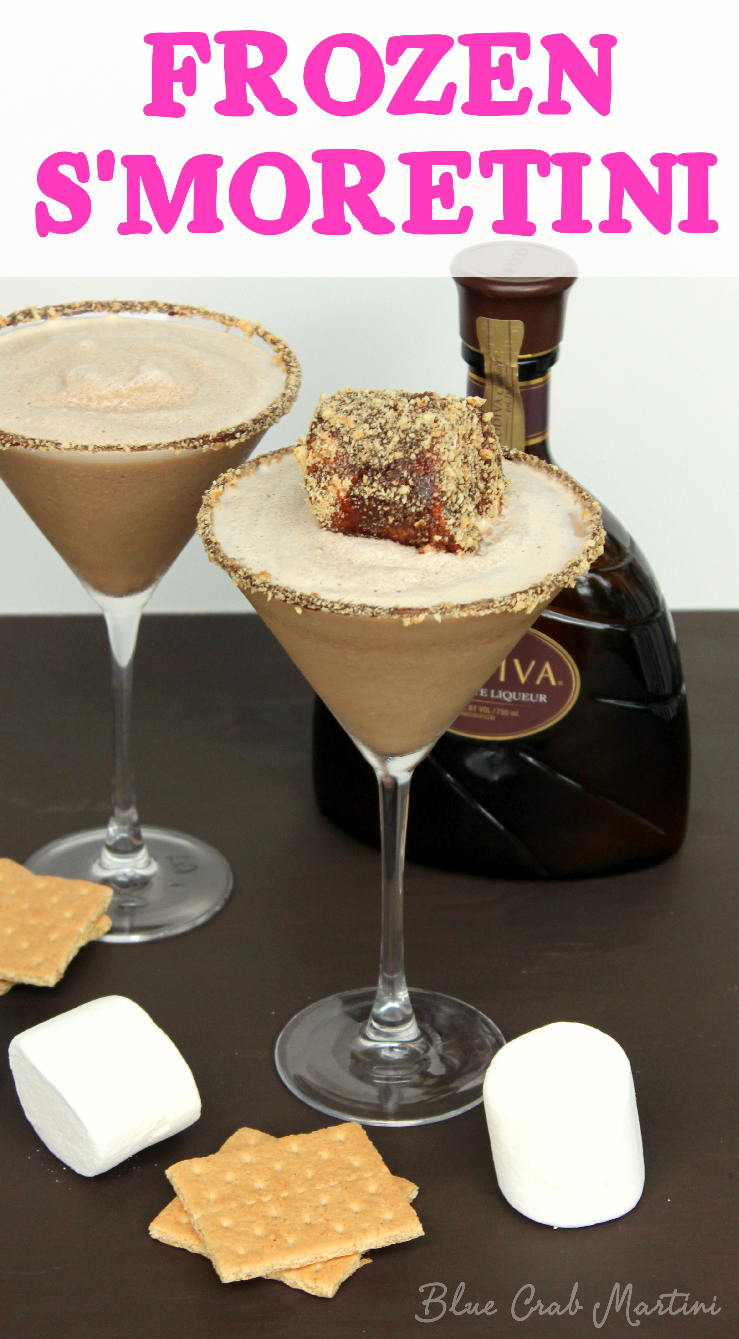 Frozen S'moretini - My Suburban Kitchen