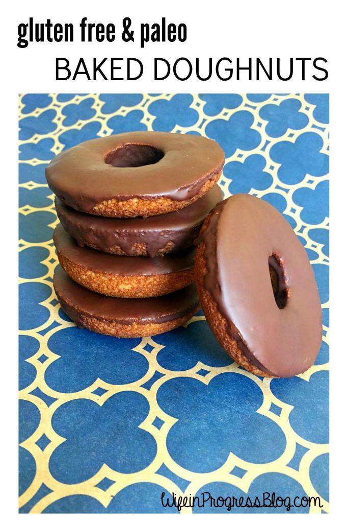 gluten free paleo baked dougnuts