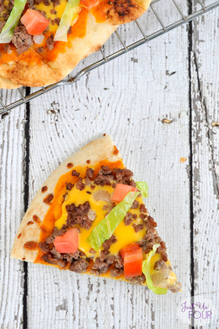 Grilled Cheeseburger Pizza Recipe