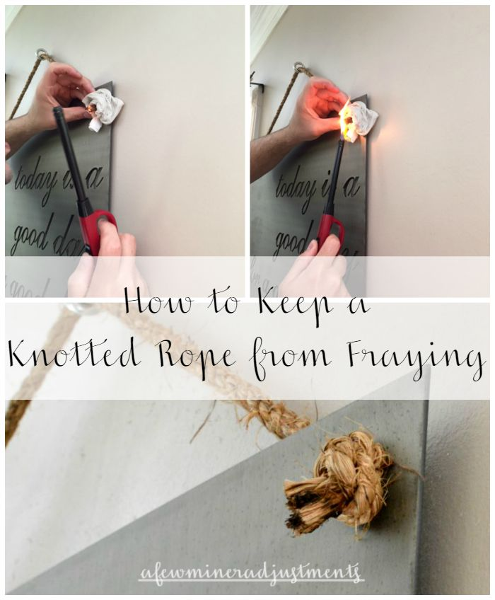 rope collage