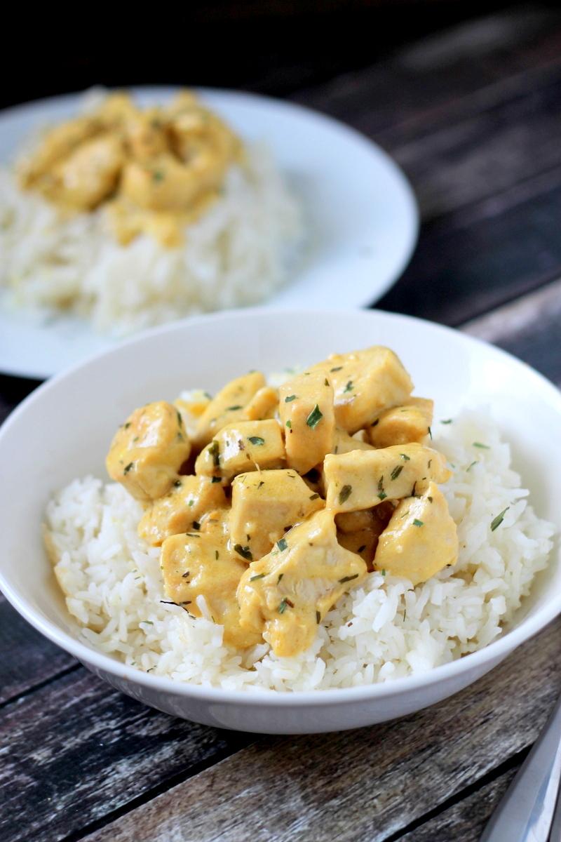 Easy Mustard Chicken