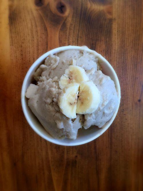 1 ingredient banana ice cream