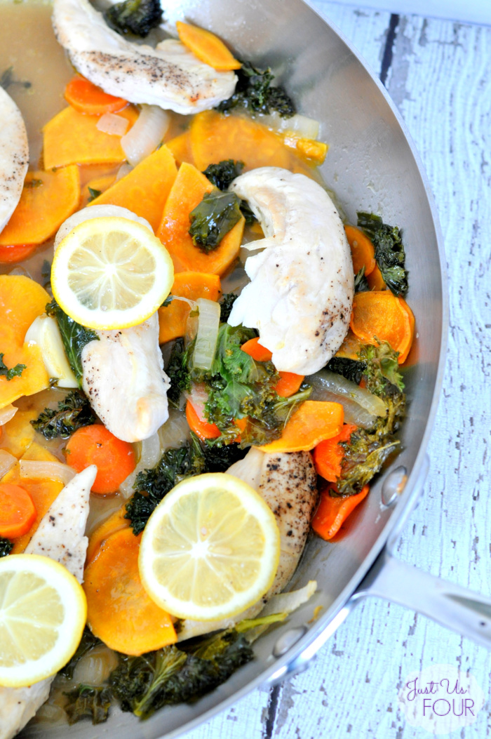 Paleo One Pot Chicken and Kale
