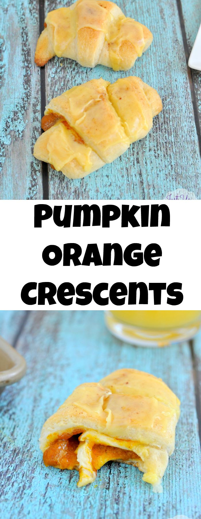 Pumpkin Orange Crescent Rolls