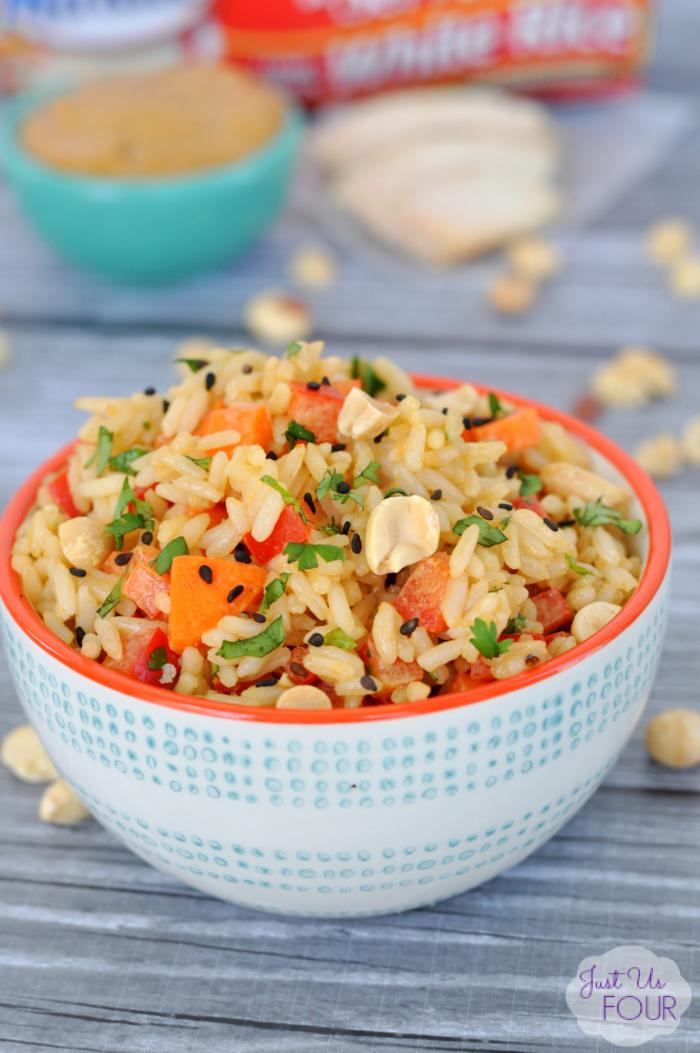 Thai Peanut Rice Bowl