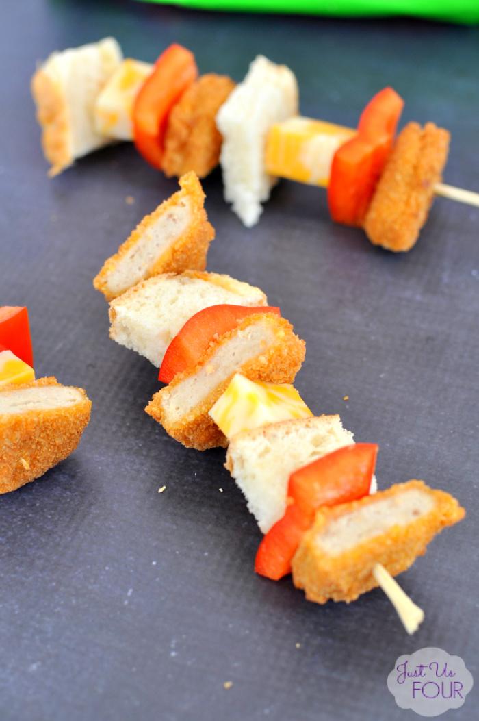 Cheesy Chicken Kabobs