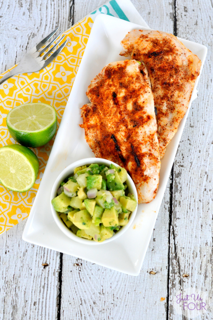 03 - Just Us Four - Chipotle Chicken with Avocado Salsa