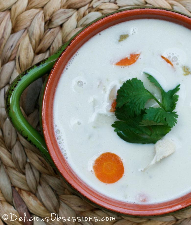 08 - Delicious Obsessions - Creamy Coconut Green Chili Soup
