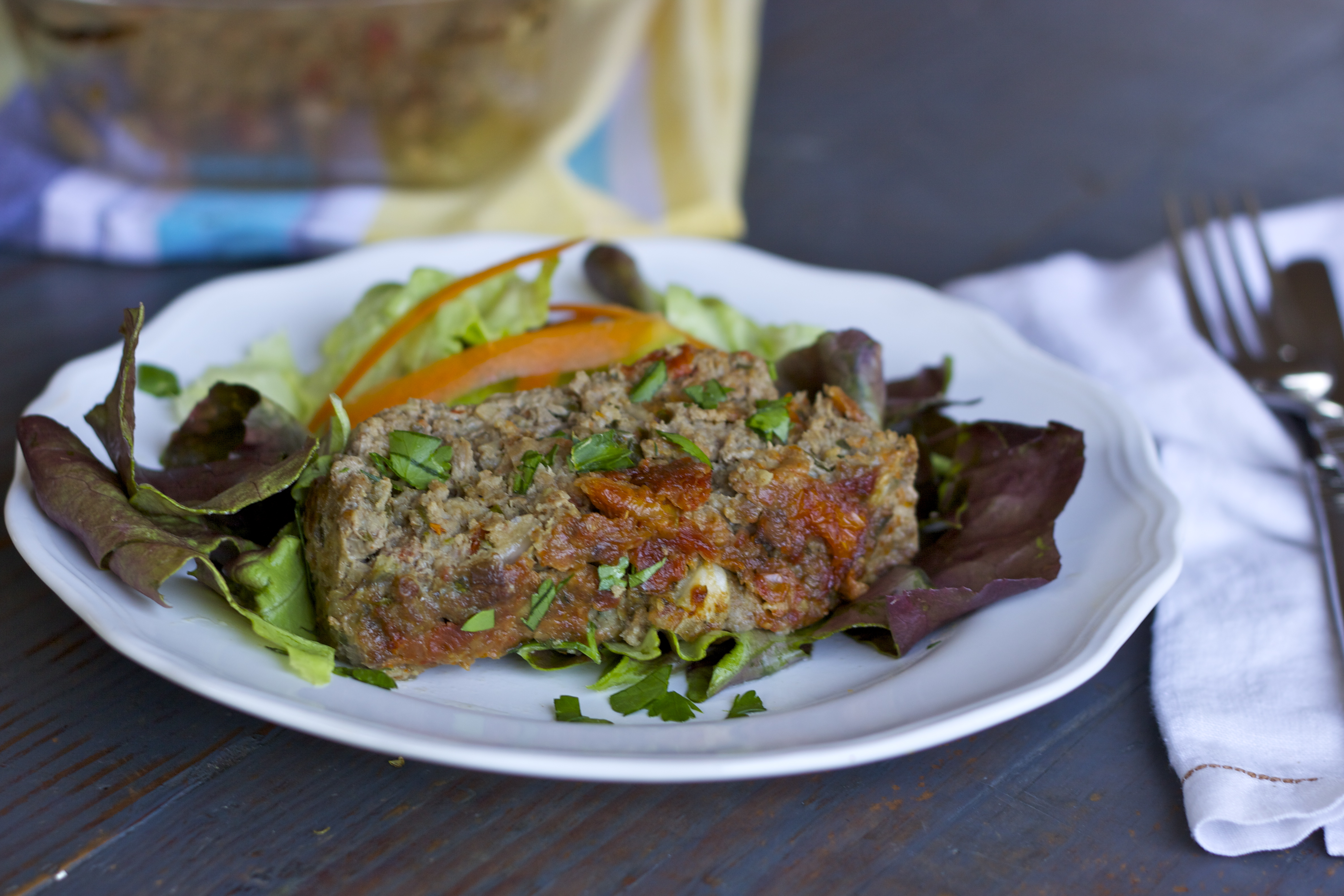 15 - Rubies and Radishes - Paleo Meatloaf