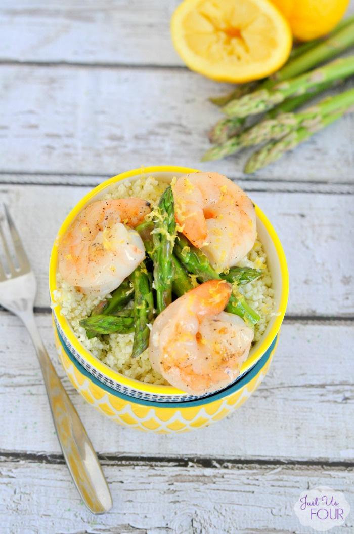 17 - Just Us Four - Lemon Shrimp Stir Fry