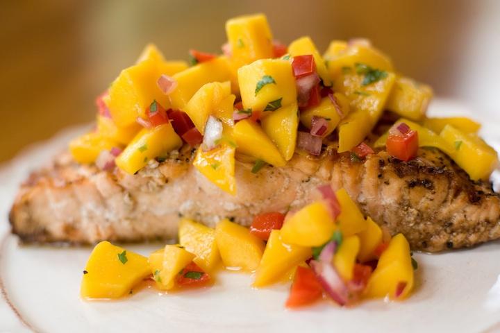 19 - The Organic Kitchen - Tropical Salmon
