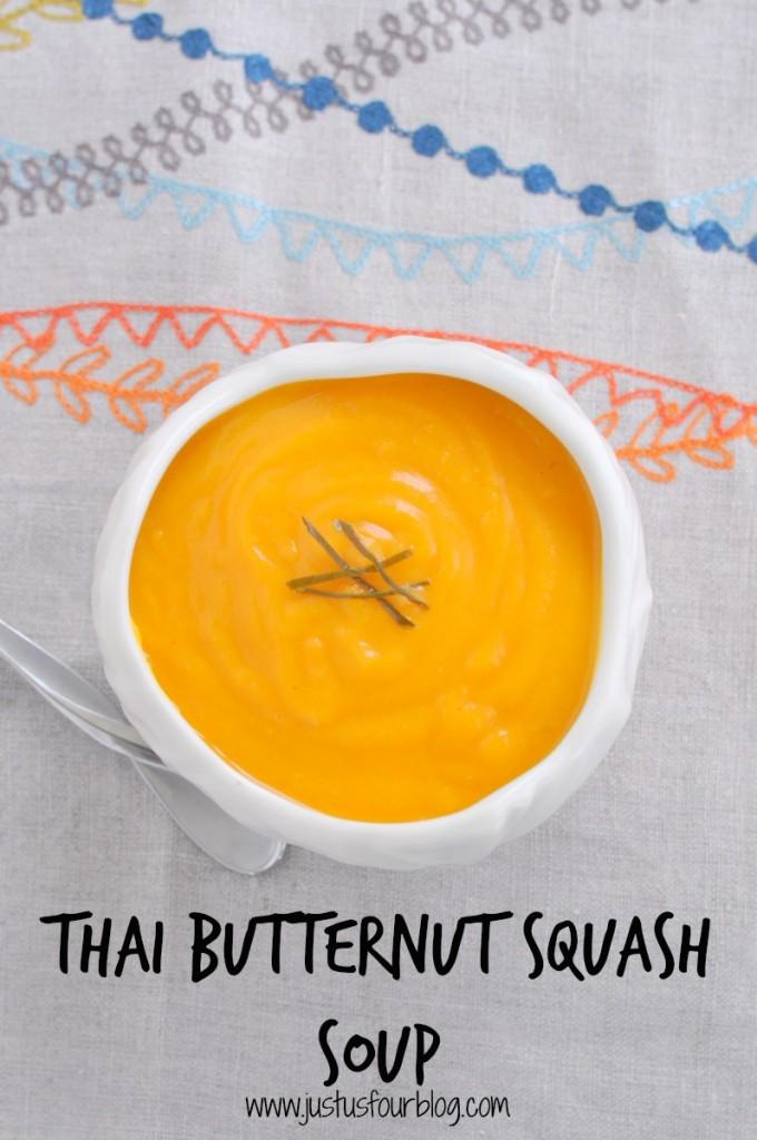 24 - Just Us Four - Thai Butternut Squash Soup